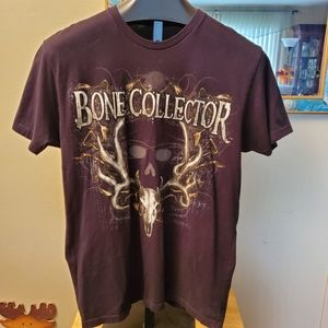 The Bone Collector Brotherhood Tee Sz. LRG. L@@K!!